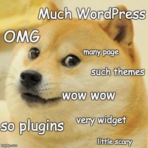 WordPress Doge
