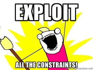 Exploit All the Constraints