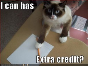 I can has extra credit